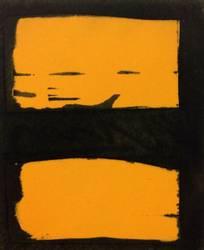 Kjell Nupen, Overmalt postkort med bok